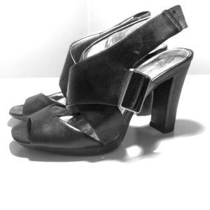 Black Calvin Klein Pumps